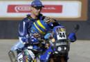 Le motard français Bruno Da Costa, concurrent du du Rallye-raid Dakar 2012 (31/12/2011)