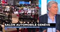 Les dernières tendances du salon de l'automobile de Genève