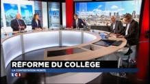 """Réforme des collèges : """"Le gouvernement a fait une erreur de communication"""""""