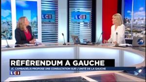 """Un référendum pour l'unité de la gauche : """"une mascarade"""" pour certains"""