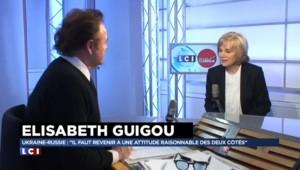 """Elisabeth Guigou évoque Roger Hanin : """"On trouvait Mitterrand injuste avec les pieds-noirs"""""""