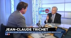 """Jean-Claude Trichet : """"Même les pays en grande difficulté ont aidé les Grecs"""""""