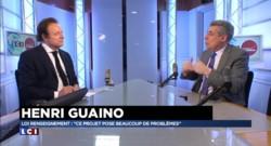 """Loi sur le renseignement : """"Ce n'est pas une loi sur le terrorisme"""", affirme Henri Guaino"""