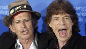 Mick Jagger et Keith Richards