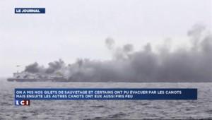 Opération de sauvetage au large de la Grèce : des passagers témoignent depuis le ferry