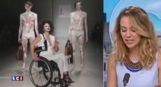 Prothèse en métal, béquilles, fauteuil roulant... la Fashion Week de New York exhibe les différences