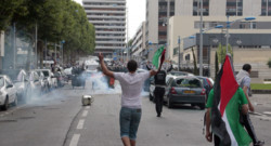 sarcelles dégradations manifestation propalestinienne