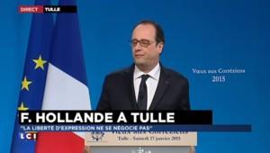 """François Hollande : """"Nous sommes une seule France sans distinction de religion"""""""