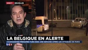 Opération anti-terroriste en Belgique : des hommes seraient toujours recherchés