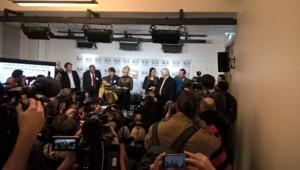 Pamela Anderson à l'Assemblée nationale le 19/01/16