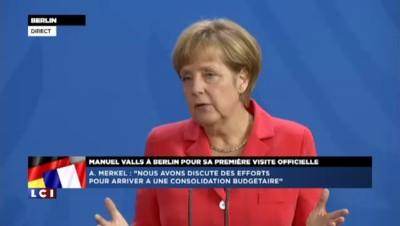 """Angela Merkel : le programme de réformes est """"très ambitieux"""""""