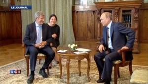 """De Villiers rencontre Poutine pour discuter de plusieurs """"Puy du fou"""" en Crimée"""