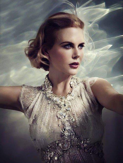 Nicole Kidman est Grace Kelly pour le film Grace de Monaco