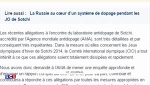 Dopage : des dizaines d'athlètes privés de JO de Rio 2016