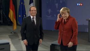 Hollande et Merkel célèbrent le 50e anniversaire du Traité de l'Elysée