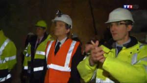Le 20 heures du 21 février 2014 : Arnaud Montebourg veut relancer le secteur minier fran�s - 1132.419