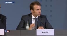 """Macron : """"Ce qui est bon pour la France est aussi bon pour l'Allemagne"""""""