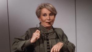 Fernande Grudet alias Madame Claude, en mai 1986 à Paris