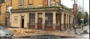 Grande-Bretagne : sévères perturbations et dégâts matériels dus à la tempête Katie