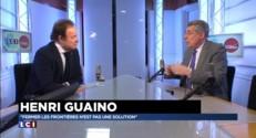 """Migrants en Europe : """"Fermer les frontières n'est pas une solution"""", affirme Henri Guaino"""