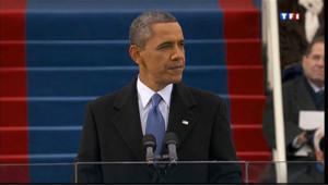 Barack Obama a prêté serment pour son second mandat