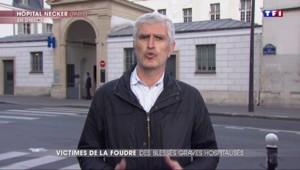 """Foudre à Paris : le cœur d'un des enfants a été touché par la décharge, il reste dans un état """"très préoccupant"""""""