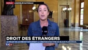 Droits des étrangers : le projet de loi du gouvernement divise à l'Assemblée