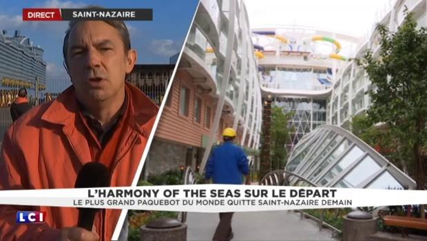 """""""Harmony of the Seas"""" : le géant des mers se prépare au départ"""
