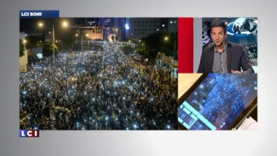 Hong Kong : une vague lumineuse prend d'assaut les réseaux sociaux