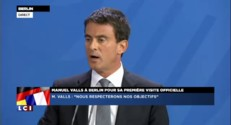 "Manuel Valls : ""La France n'est pas l'enfant malade de l'Europe"""