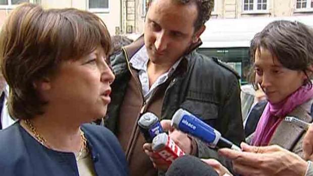 Martine Aubry Congrès PS