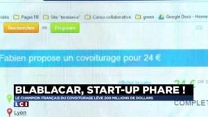 Blablacar lève 200 millions de dollars, un record pour une start-up française