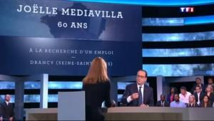Hollande annonce un nouveau contrat aidé pour les seniors sur TF1