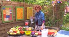 Le 13 heures du 3 juin 2015 : Artisans (3/5) : cette artiste confectionne ses oeuvres d'art avec des fruits et légumes - 2064