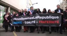 Le 20 heures du 25 janvier 2015 : Nouvel hommage aux victimes des attentats parisiens à l'Elysée et à L'Haÿ-les-Roses - 370.471