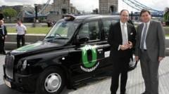 Londres taxi hydrogène présentation