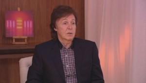 Paul McCartney interviewé par TF1 en octobre 2013