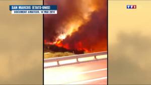Le 20 heures du 18 mai 2014 : De violents incendies ravagent la Californie, l%u2019�t d%u2019urgence n%u2019est toujours pas lev� 546.9502113494873