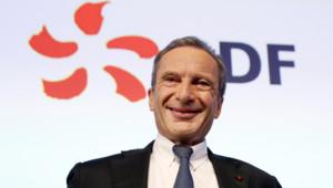 Le PDG d'EDF Henri Proglio en février 2014