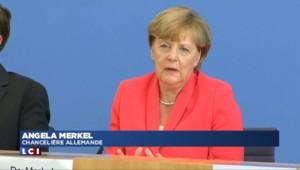 Merkel : l'espace Schengen remis en question si désaccord sur la répartition des réfugiés