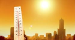 Réchauffement climatique températures thermomètre climat