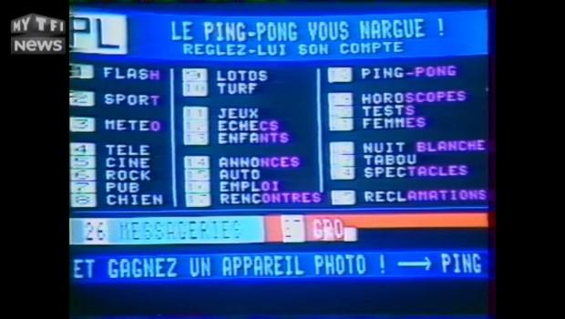 """C'était un 4 mai : le Minitel rose, """"mini péchés"""", maxi succès en 1987"""