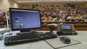 Des étudiants en médecine à l'université Paris-Descartes.