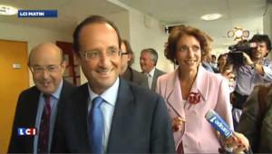 Hollande entre dans le vif de la campagne