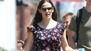 Jennifer Garner le 24 juillet dernier à Los Angeles.