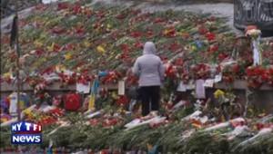 L'Ukraine entre larmes et armes