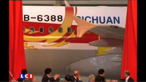 Le premier A320 made in china