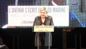 """Marine Le Pen : """"Si nous échouons, le totalitarisme islamique prendra le pouvoir"""""""