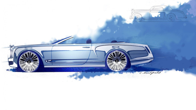 Bentley Mulsanne Convertible Concept 2012