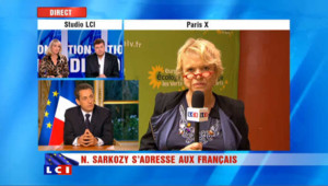"""Eva Joly donne un """"triple zéro"""" à Sarkozy"""